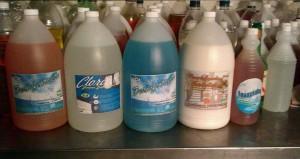 venta de materia prima para elaborar productos quimicos de limpieza