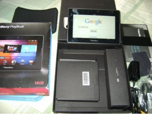 vendo tablet playbook blackberry 16 gb 100% funcional.