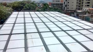 termoblok laminas de acero anime para techos,entre piso,cerramientos y