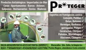 servicio de fumigaciones en maracaibo con productos importados