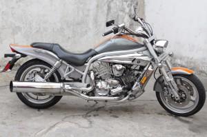 en venta bellisima moto hyosung aguila gv 650