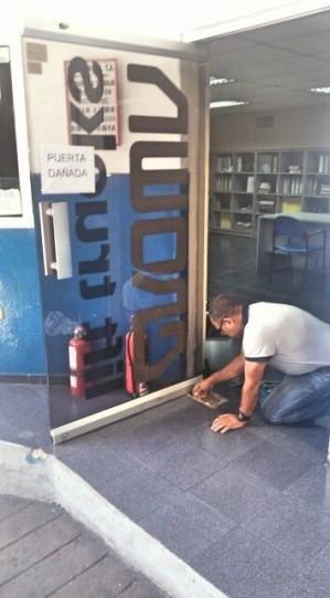 reparacion de puertas en vidrio mantenimiento 02124191081