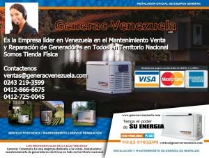 plantas el�ctricas generac venezuela tecnicos instalaci�n