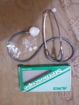 se vende estetoscopio pediatrico doble campana nuevo