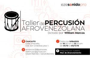 clases de percusion afrovelezola ...genero de nuetra venezuela
