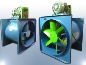 extractores axial centrifugo helicoidal proyectos industriales ventila