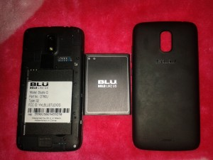 celular blu hd 5.0 para repuesto negociable