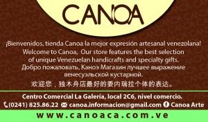 arte y artesanias canoa, la mejor expresion artesanal venezolana