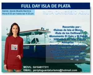 full day isla de plata guanta disfruta
