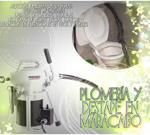 plomeria sistemas destapes filtraciones en maracaibo 04146535347
