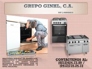 cocinas a gas reparacion, instalacion y mantenimiento.