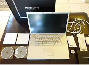 apple mac book pro de 17 con garantía