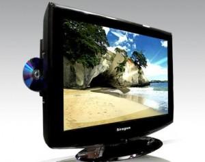 Televisor lcd siragon 32 pulgadas dvd integrado lector de for Televisor 15 pulgadas