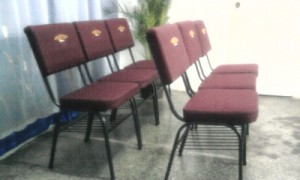 sillas para iglesias