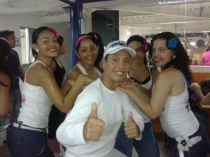 bailoterapia. explosion de ritmos fitness
