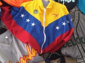 chaqueta  tricolor