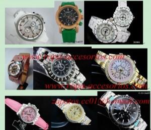 relojes al por mayor de marca y joyas mk, lv, armani, chanel