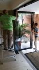 Manten / reparacion,,, puetas en vidrio templado - frenos hidraulicos
