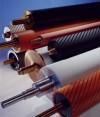 Rodillos, rodillos industriales, recubrimiento de rodillos, ruedas.