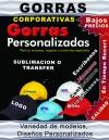 GORRAZ PERSONALIZADAS O CORPORATIVAS POR SUBLIMACION O TRANSFER