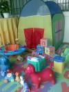 Alquiler de inflables, baby gym (área para bebés) y juguetes