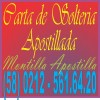 Carta de Soltería Apostilla en Venezuela / Antecedentes / Partidas