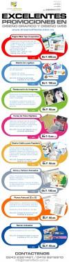 Excelentes Promociones en Diseño Grafico y Web!!!